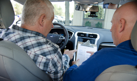 Driving Evaluations program image