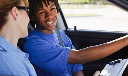 In-Car Driving Lessons Program Image