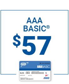 AAA Basic Membership only $57