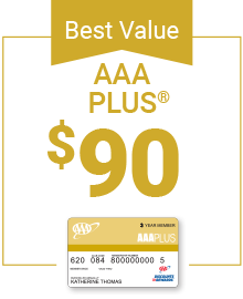 AAA Plus Membership only $90