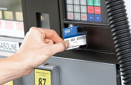Paying for gas at NOCO with AAA card