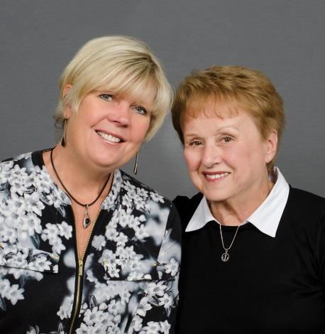 Lynn Richau and Sue Smith